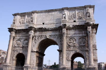 The Arch of Constantine of in Rome, Italy. Stock Photo - 15079938