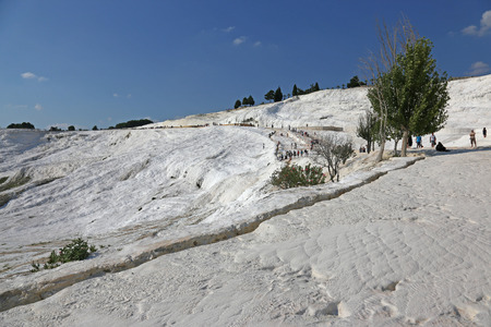 Pamukkale, which means