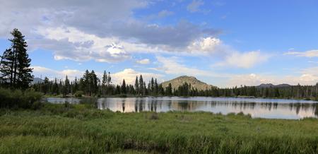 Sprague lake in Rocky Mountain National Park, Colorado. Stock Photo - 108606113