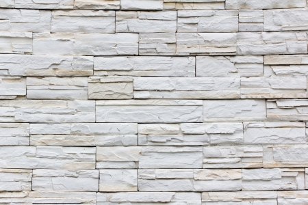 Stacked stone wall background horizontal photo