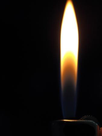 Blaze on the dark background Stock Photo