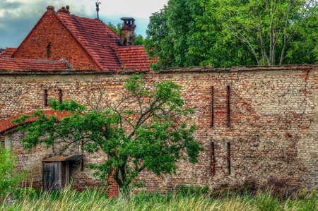 old barn: Old barn house Stock Photo