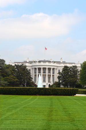 Casa blanca Residencia del Presidente de EE.UU. en Washington DC Foto de archivo - 5065829