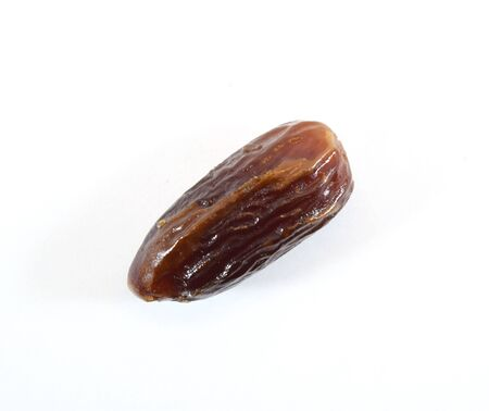 date fruit: Sweet dried date fruit - isolated