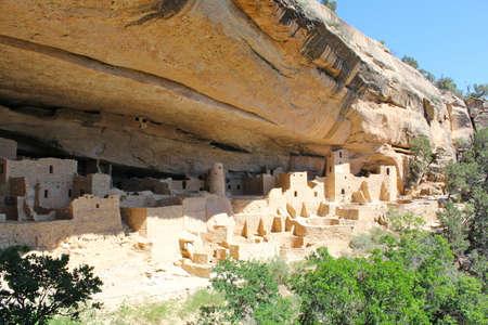 Mesa Verde National Park - Cliff Palace 版權商用圖片