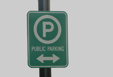 removed: public parking background removed