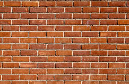 mattoncini: Muro di mattoni rossi adatto come sfondo o carta da parati