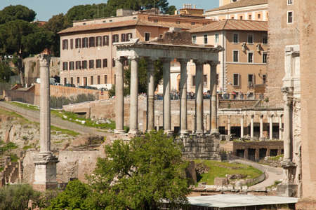 The original site of the ancient forum of Rome photo