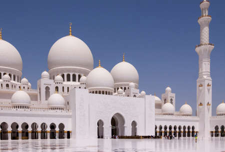 zayed: Sultan Zayed Mosque Editorial