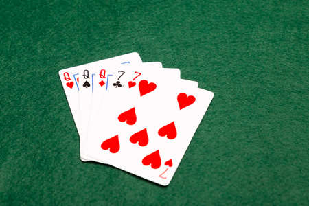money packs: Full house, the fourth highest value hand in poker. Three cards of the same value supported by two cards of the same value