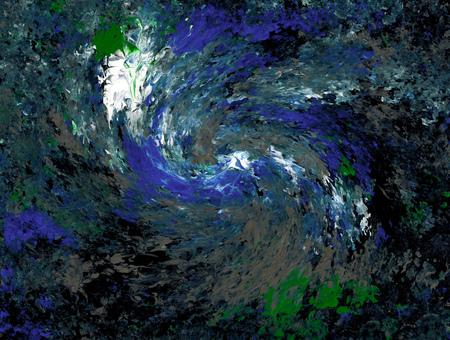 eddy: Blue Whirl Stock Photo