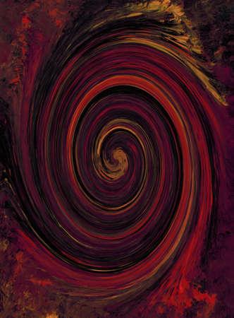 red swirl: Red Swirl