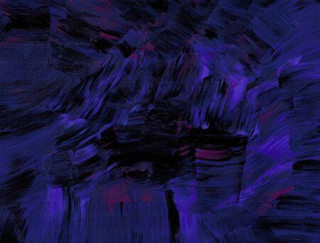 bold: Bold Purple Strokes