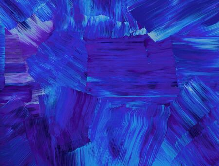 expressionist: Blue Strokes