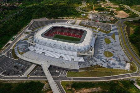 Arena Pernambuco football stadium, in São Lourenço da Mata, near Recife, Pernambuco, Brazi