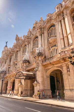 Gran Teatro de Habana Alicia Alonso, Havana, Cuba
