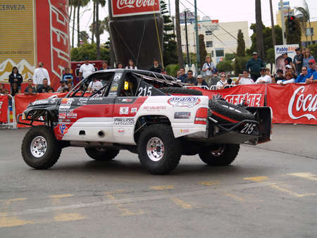 Baja 500 Desert Racing in Mexico Stock Photo - 10003597