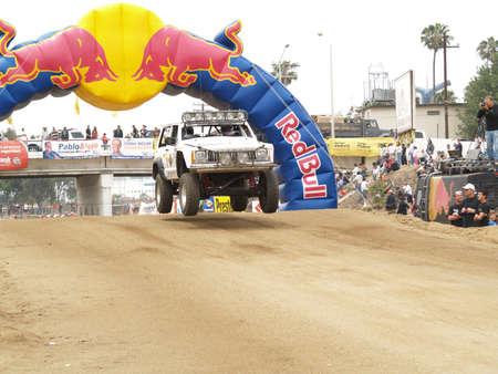 Baja 500 Desert Racing in Mexico Редакционное