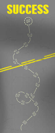 Walking Path to Success