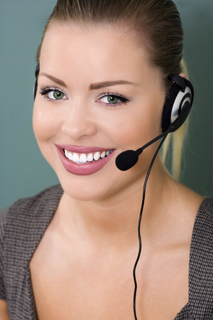 perfect  support with female customer service representative photo