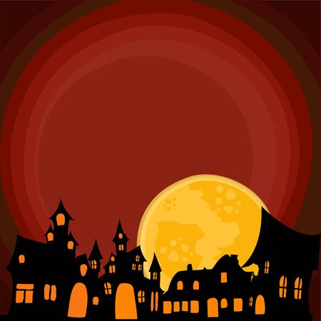 halloween background graphic resource Stock Photo