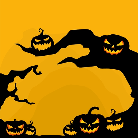 ghost house: halloween background graphic resource Stock Photo