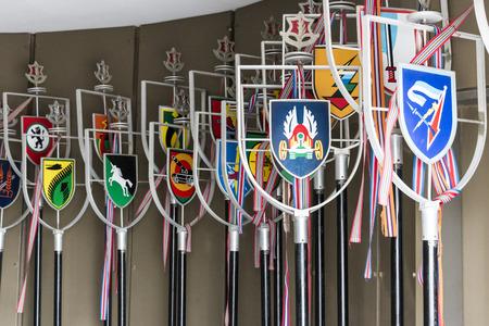 honorarium: Unit Banners at Latrun Fortress Editorial