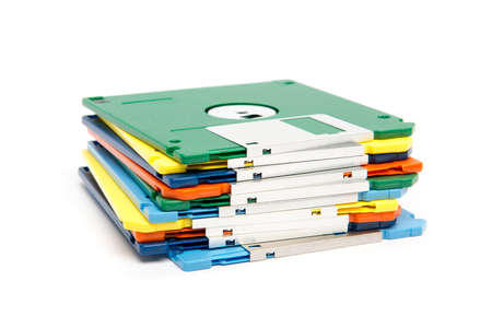 floppy disks Stock Photo