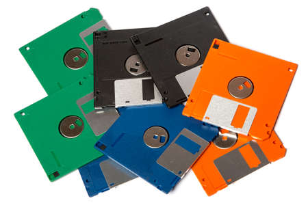 diskette: floppy disks Stock Photo