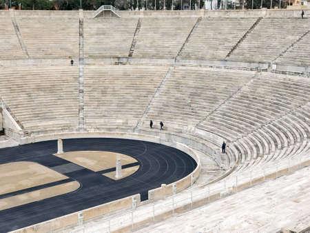 The olympic Panathenaic Stadium in Athens, Greece