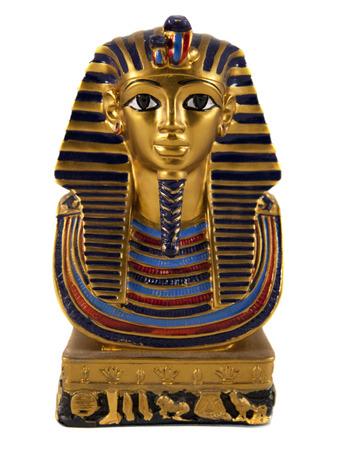 Solated faraone egiziano in miniatura Archivio Fotografico - 23042825