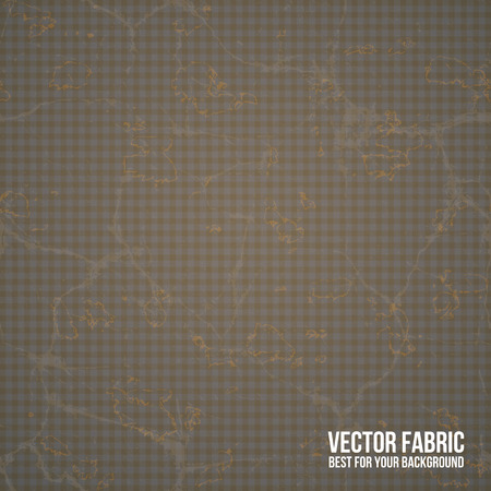 Old retro seamless vector tissue Vector