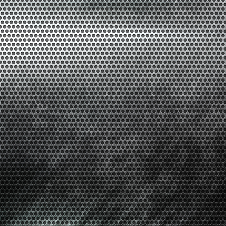 metal grid: Old damaged metal grid background