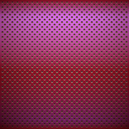 grid: Metal grid in violet color