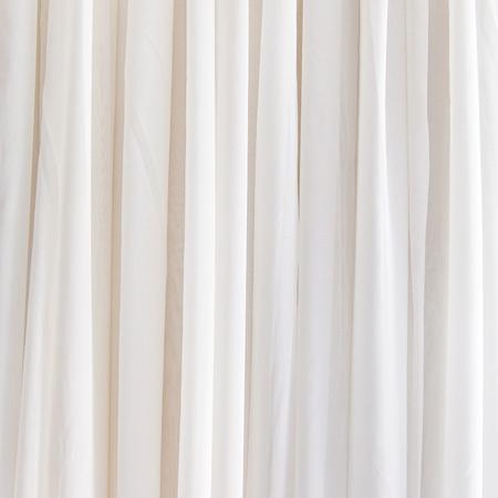Fondo de la cortina blanco para el diseño Foto de archivo