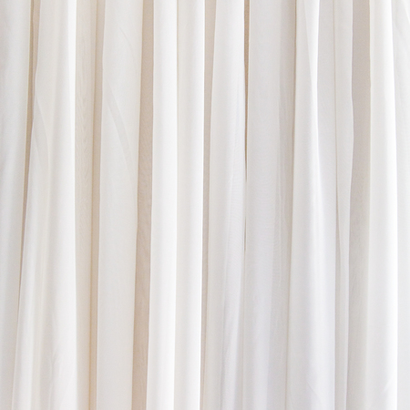 curtain background: White curtain background for design