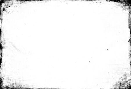 grunge frame: Empty black grunge frame template