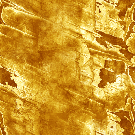 ore: Grunge  seamless texture of gold ore