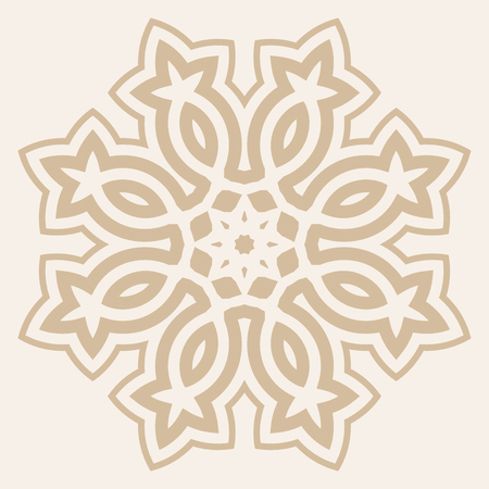 east indian: Arabic geometric pattern for festive design of the holiday of Ramadan or other oriental style art