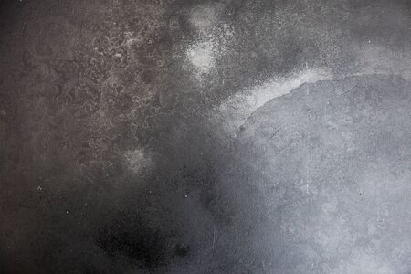 aluminium wallpaper: Grunge Polished silver metal texture with empty space