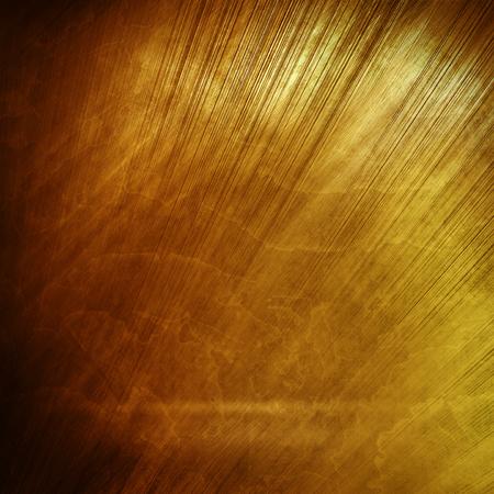 polished: Old gold polished metal texture for design or background