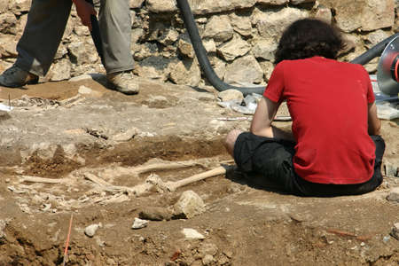 archaeologists: archaelogical research