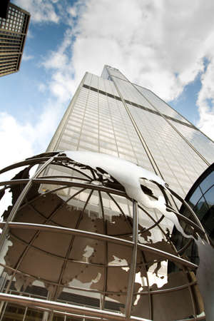 Chicago, Illinois. USA. March 11th, 2010 - Image of Sears Tower, now renamed Willis Tower.