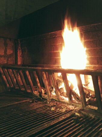 grid: Fire Stock Photo