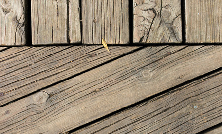 background of old parallel wooden boards