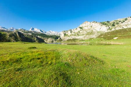 views of national park peaks of europe