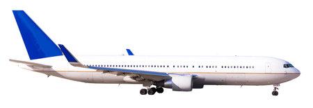 modern passenger plane on white background. High quality photo Reklamní fotografie