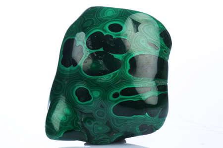 malachite mineral specimen malachite mineral specimen Stock Photo