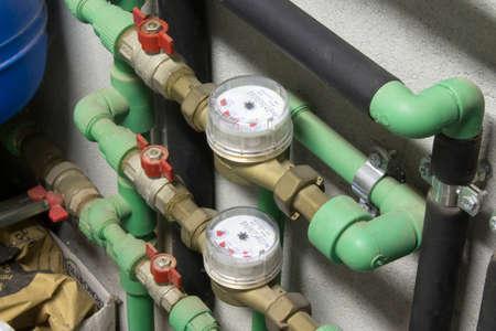 Water meter 版權商用圖片
