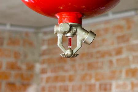 EXTINGUISHER FIRE SPRINKLER HEAD 版權商用圖片